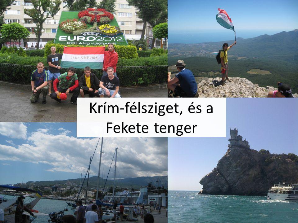 Krím-félsziget, és a Fekete tenger