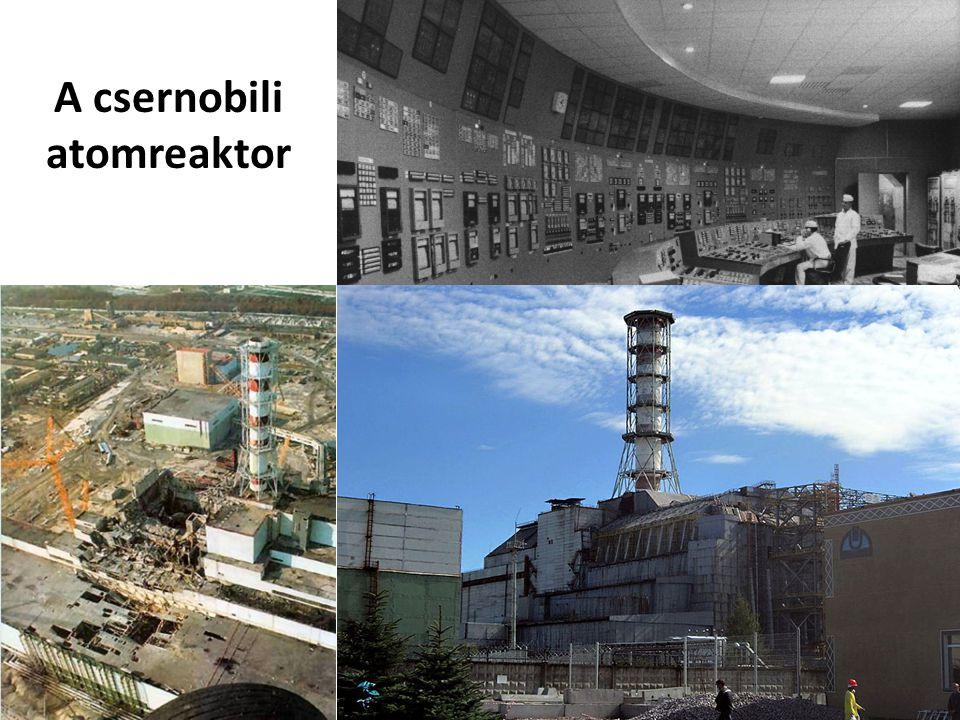 A csernobili atomreaktor
