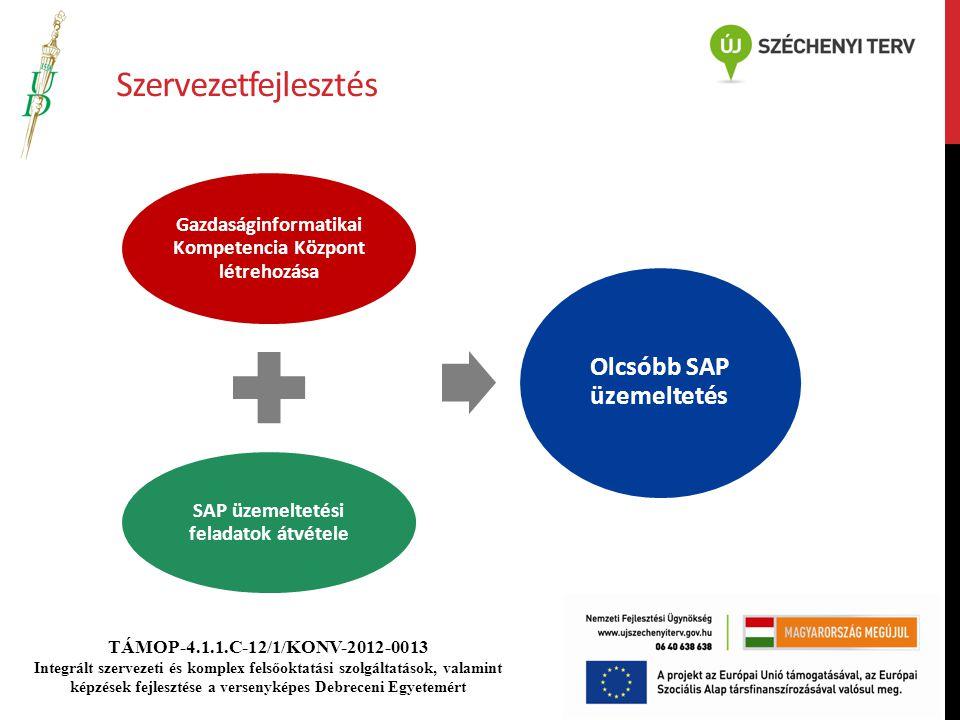 Szervezetfejlesztés Olcsóbb SAP üzemeltetés