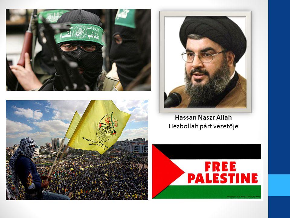 Hezbollah párt vezetője