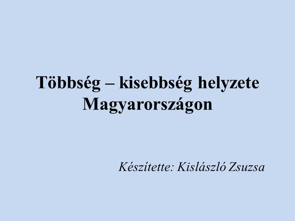Többség – kisebbség helyzete Magyarországon