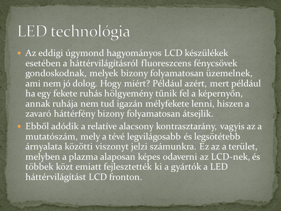 LED technológia