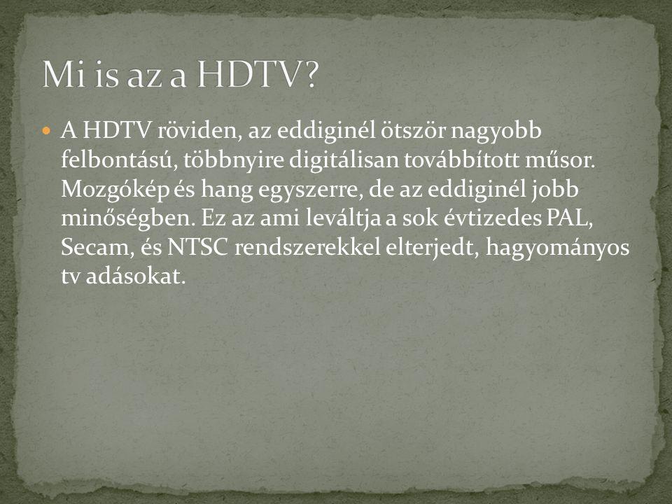 Mi is az a HDTV