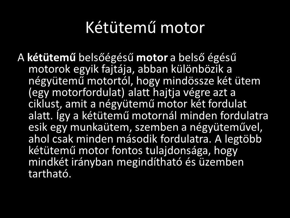 Kétütemű motor