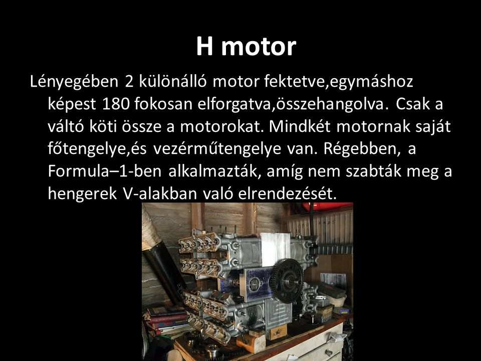H motor