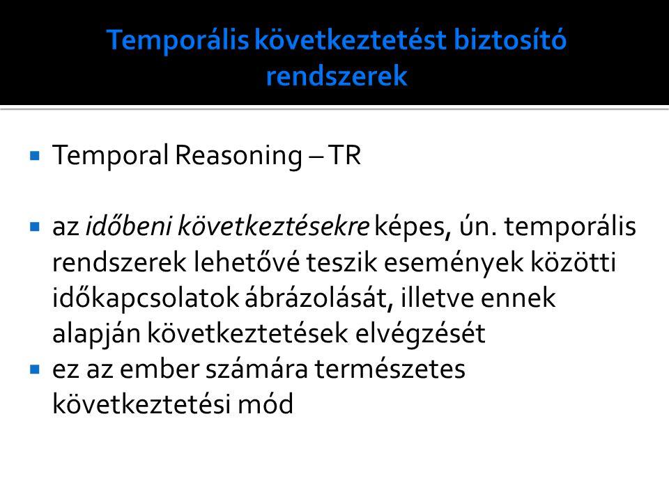 Temporális következtetést biztosító rendszerek