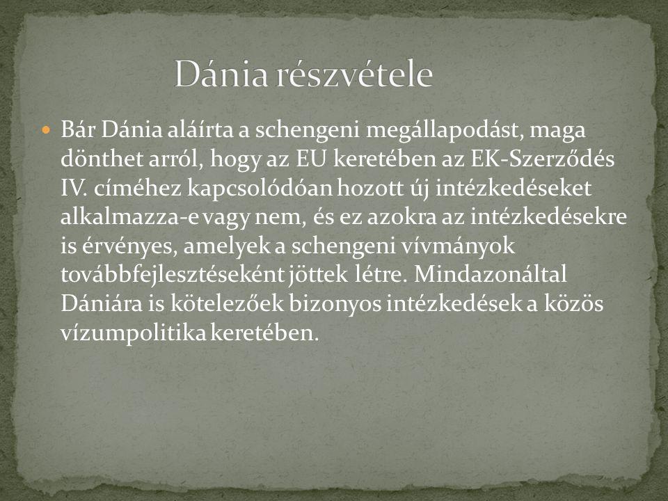 Dánia részvétele