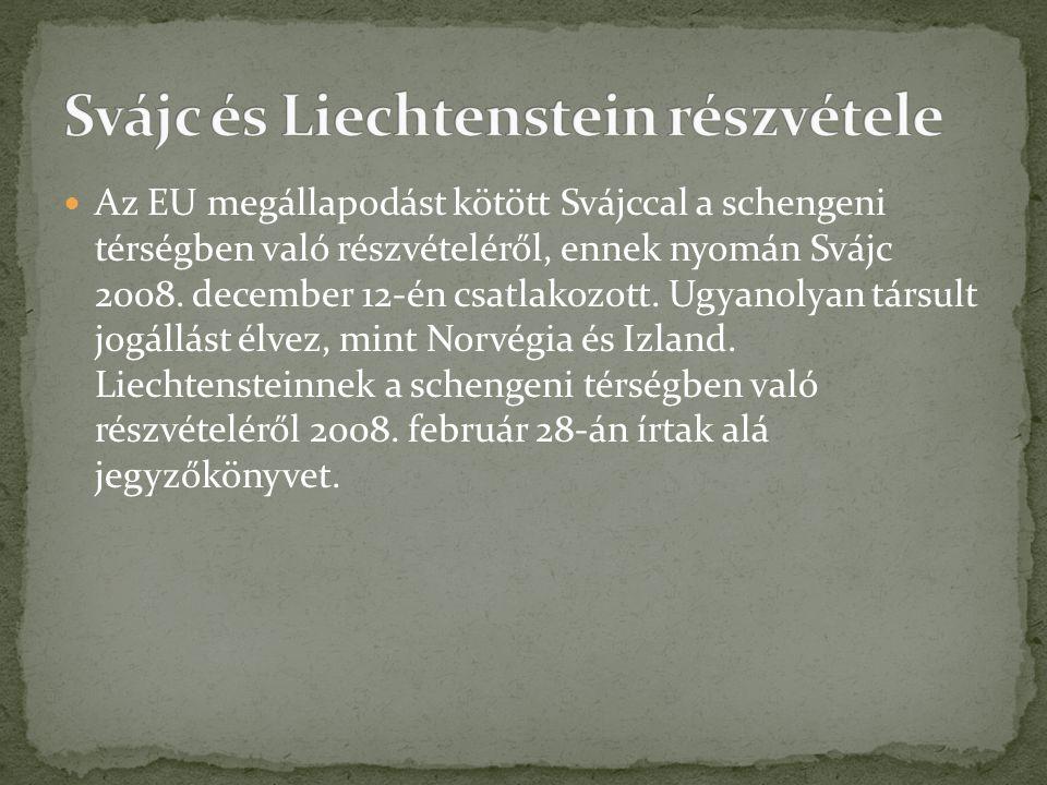 Svájc és Liechtenstein részvétele