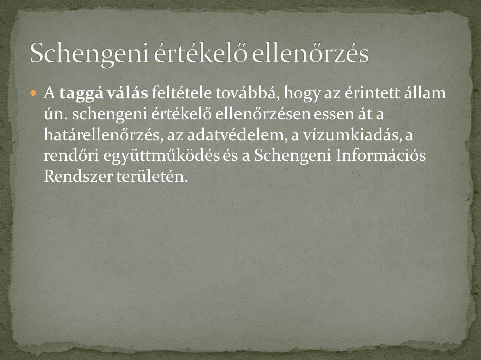 Schengeni értékelő ellenőrzés