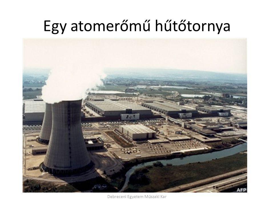 Egy atomerőmű hűtőtornya