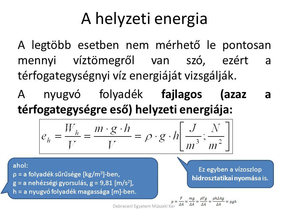 A helyzeti energia
