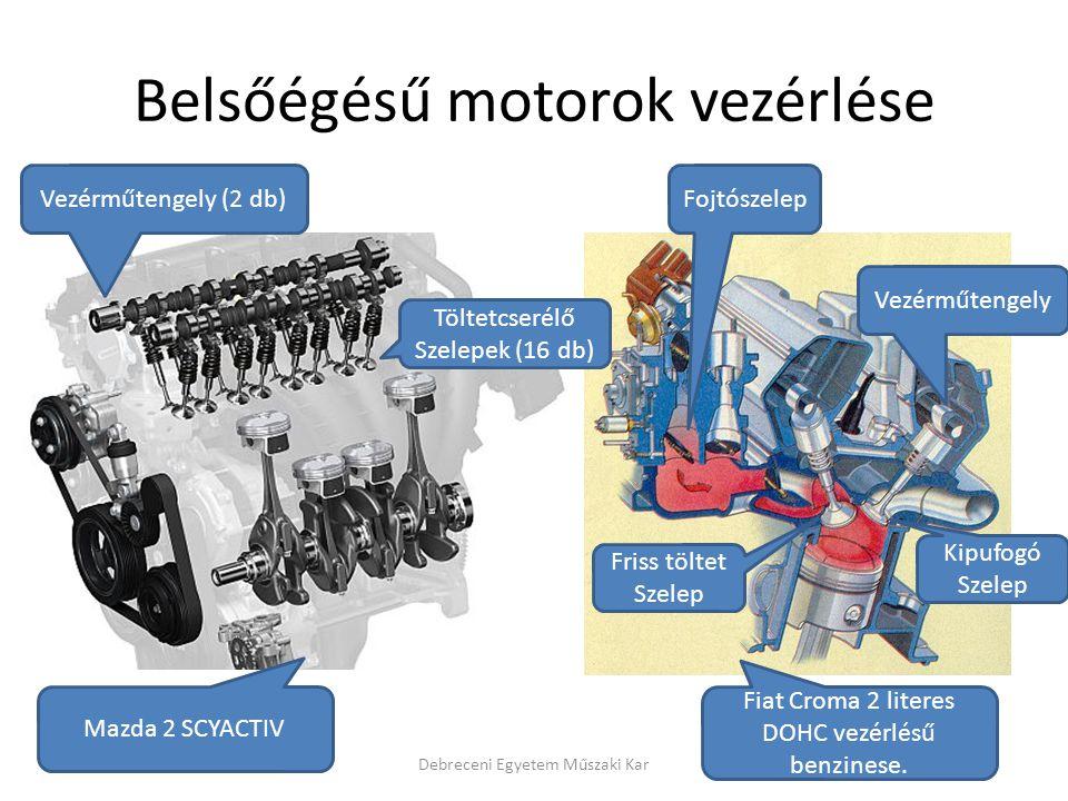 Belsőégésű motorok vezérlése
