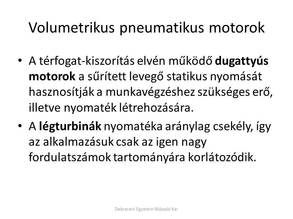 Volumetrikus pneumatikus motorok