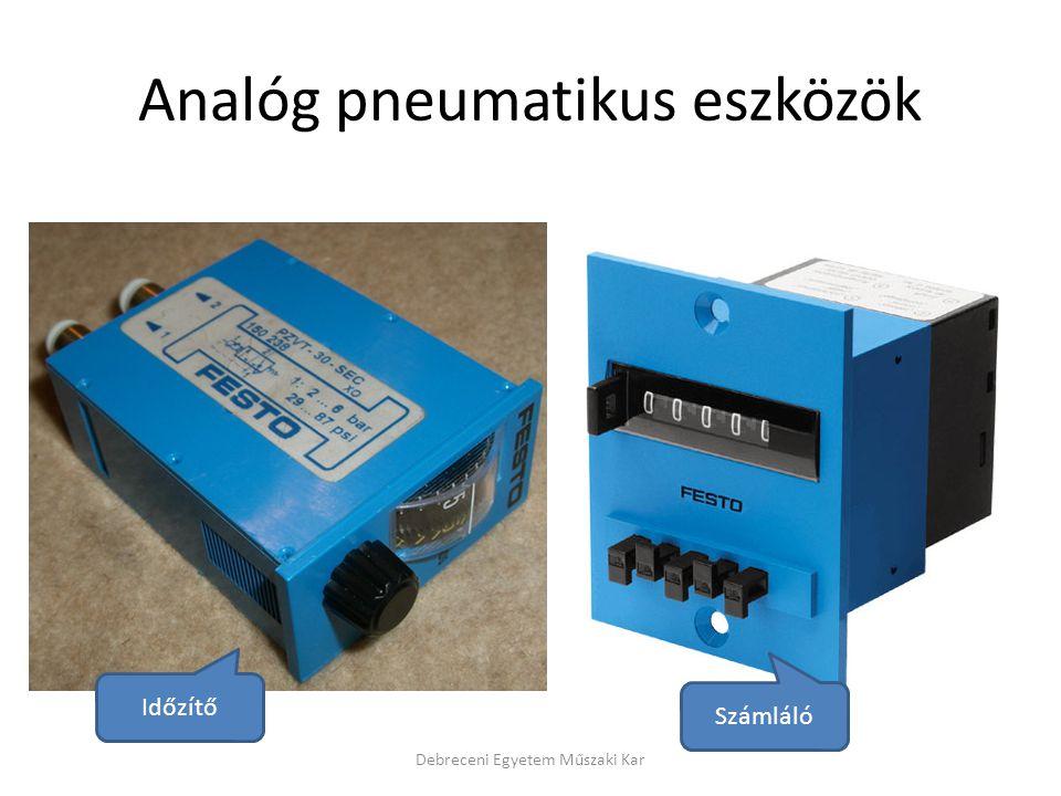 Analóg pneumatikus eszközök