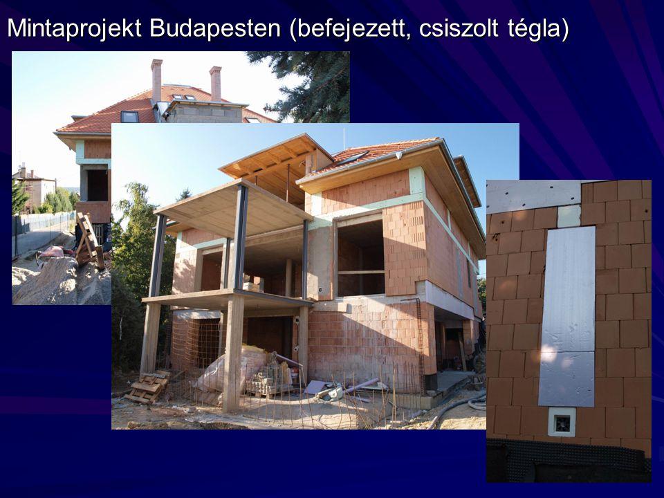 Mintaprojekt Budapesten (befejezett, csiszolt tégla)