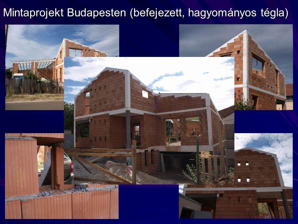 Mintaprojekt Budapesten (befejezett, hagyományos tégla)