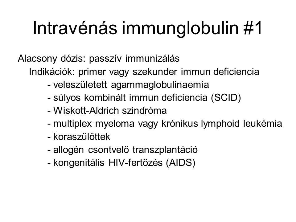 Intravénás immunglobulin #1