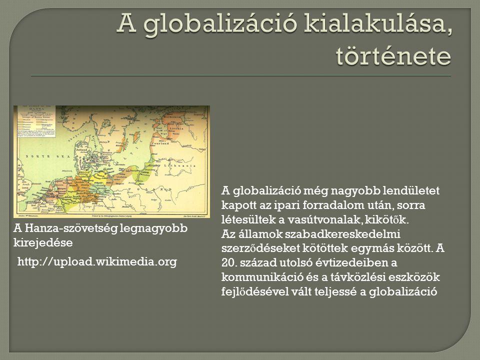 A globalizáció kialakulása, története