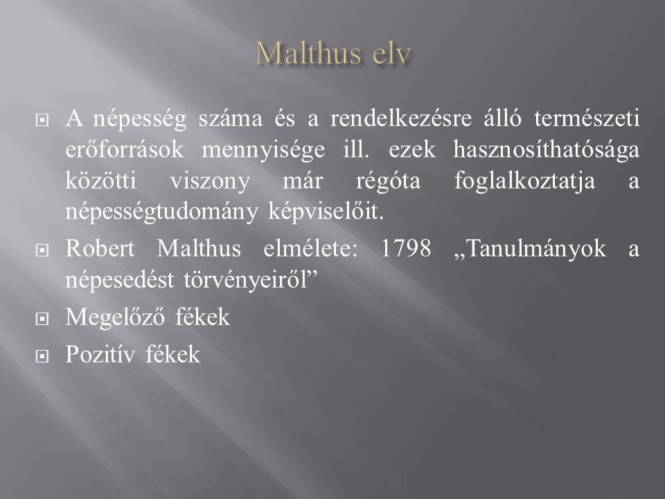 Malthus elv
