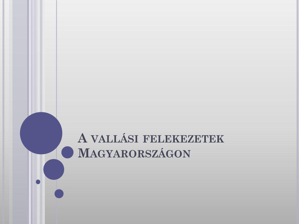 A vallási felekezetek Magyarországon