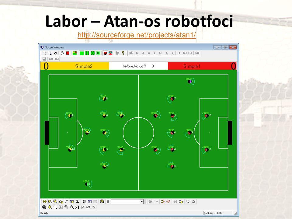 Labor – Atan-os robotfoci