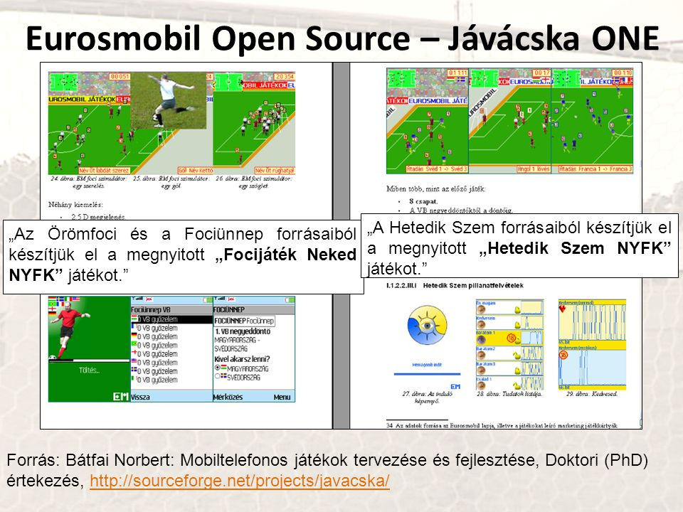 Eurosmobil Open Source – Jávácska ONE