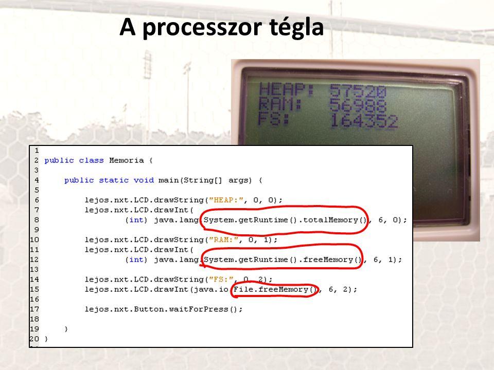 A processzor tégla