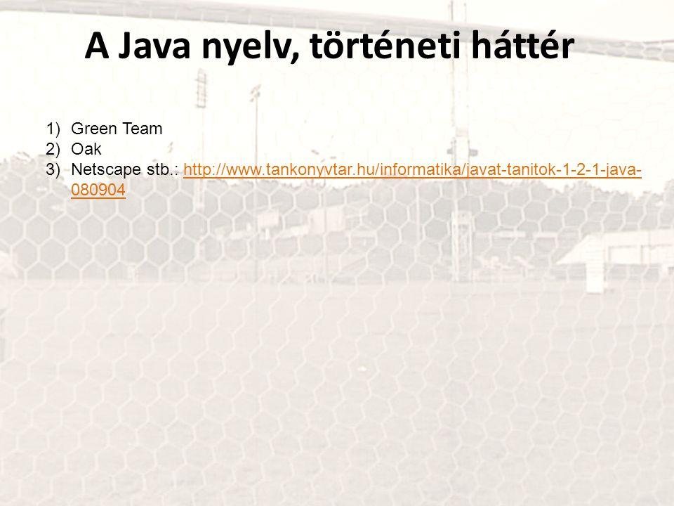 A Java nyelv, történeti háttér