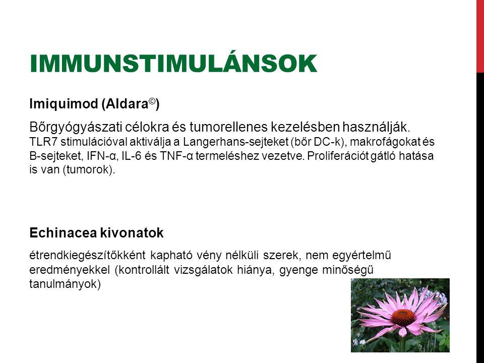 Immunstimulánsok Imiquimod (Aldara©)