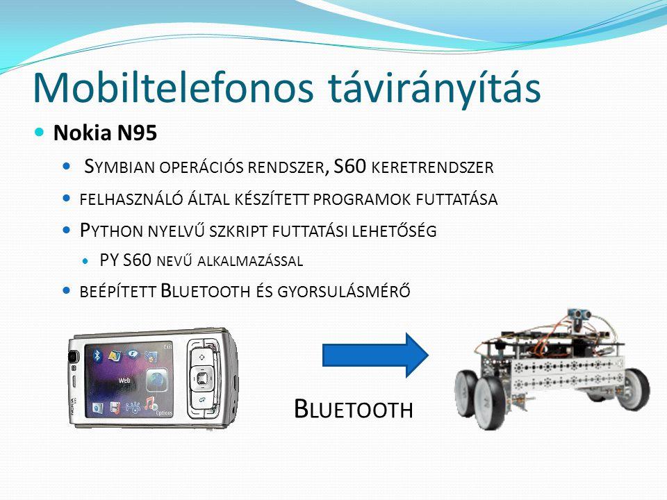 Mobiltelefonos távirányítás