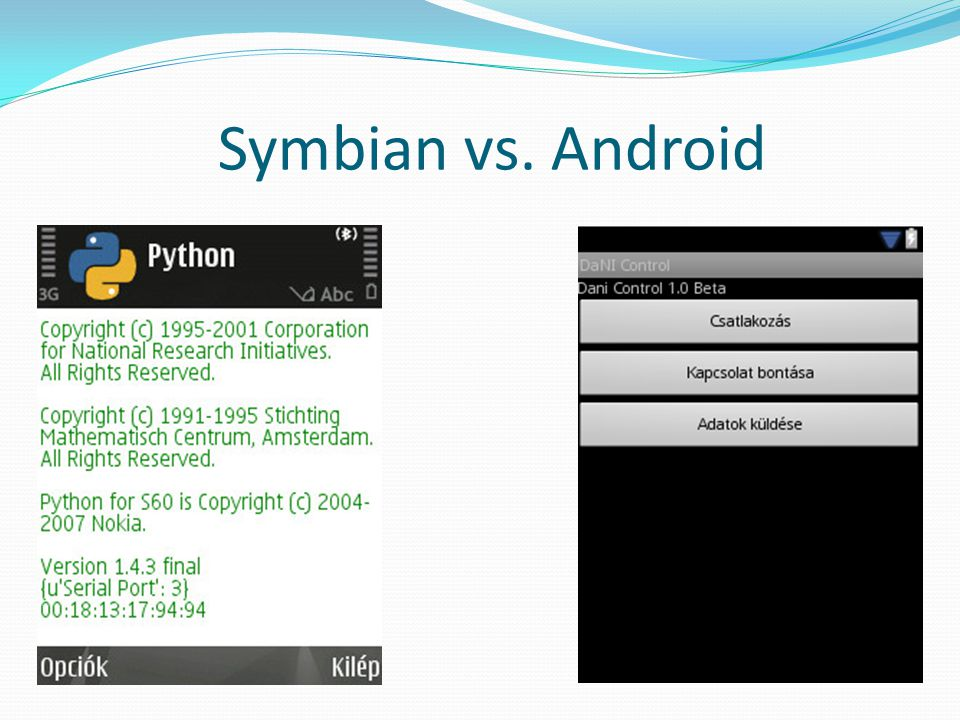 Symbian vs. Android