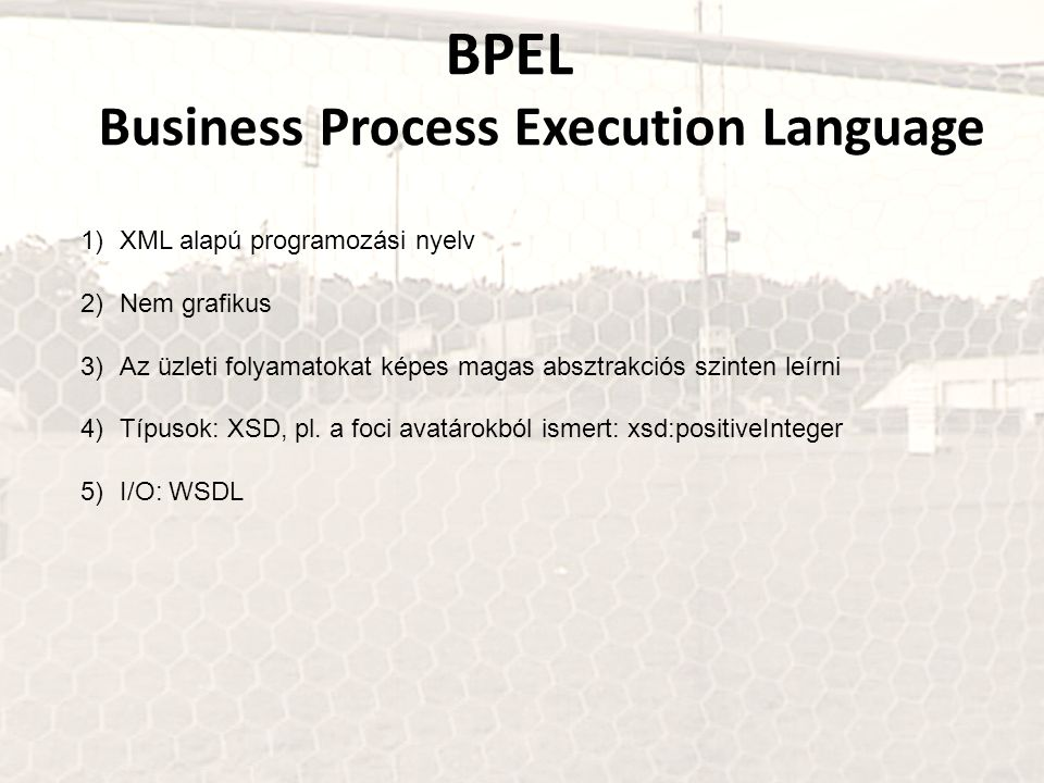 BPEL Business Process Execution Language