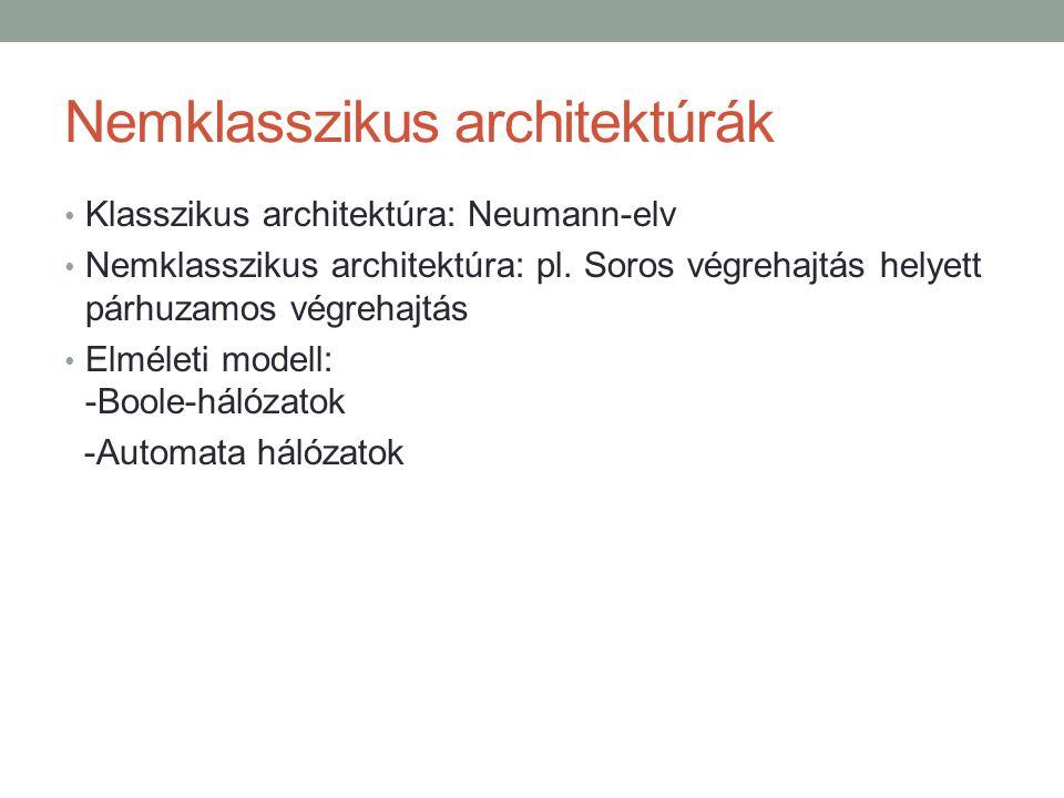 Nemklasszikus architektúrák