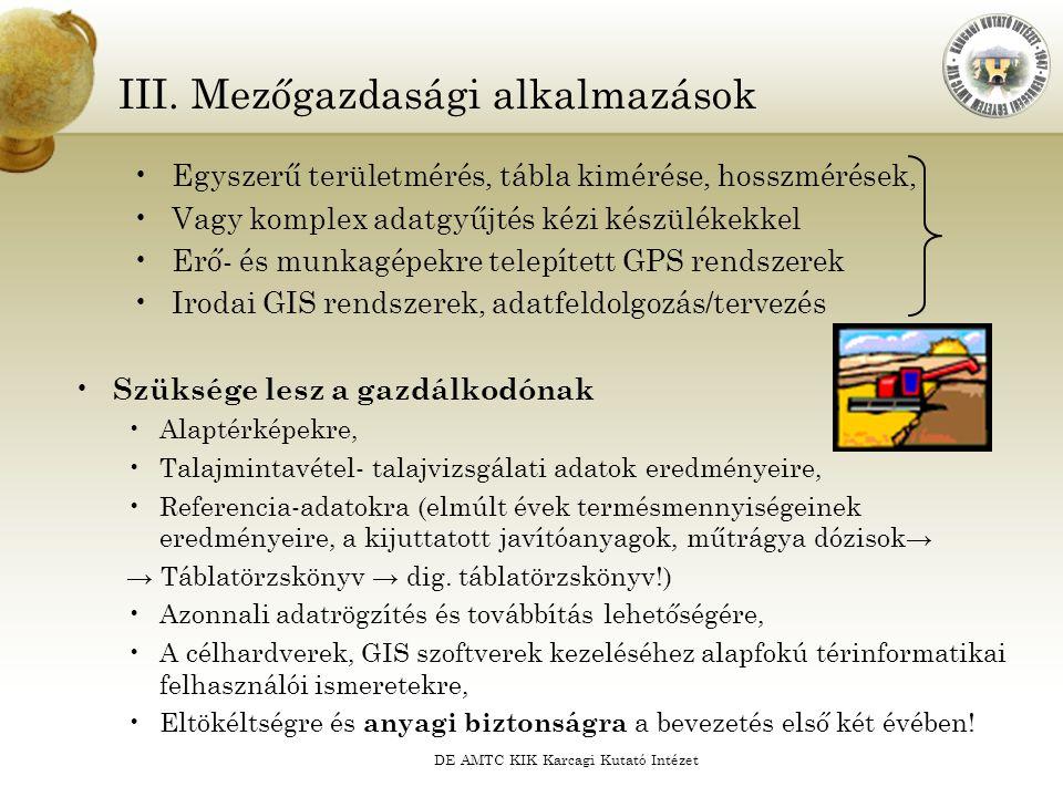 DE AMTC KIK Karcagi Kutató Intézet