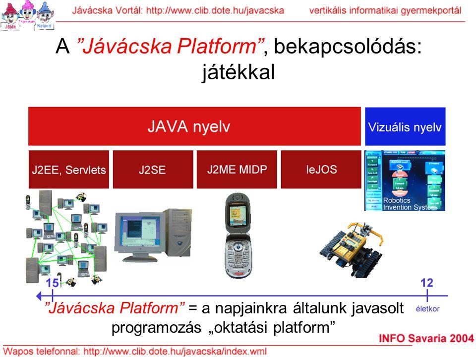 A Jávácska Platform , bekapcsolódás: játékkal