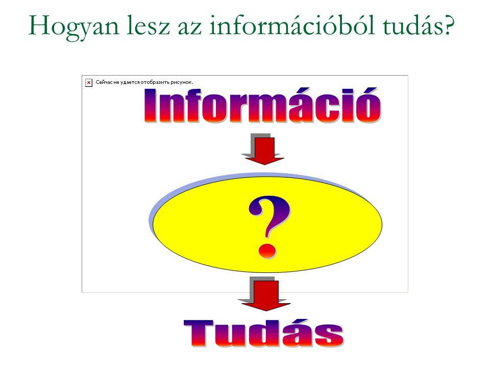 Hogyan lesz az információból tudás