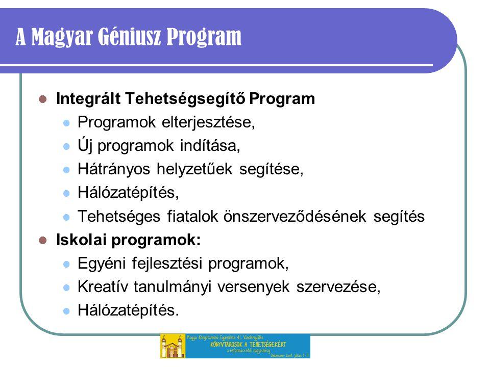 A Magyar Géniusz Program