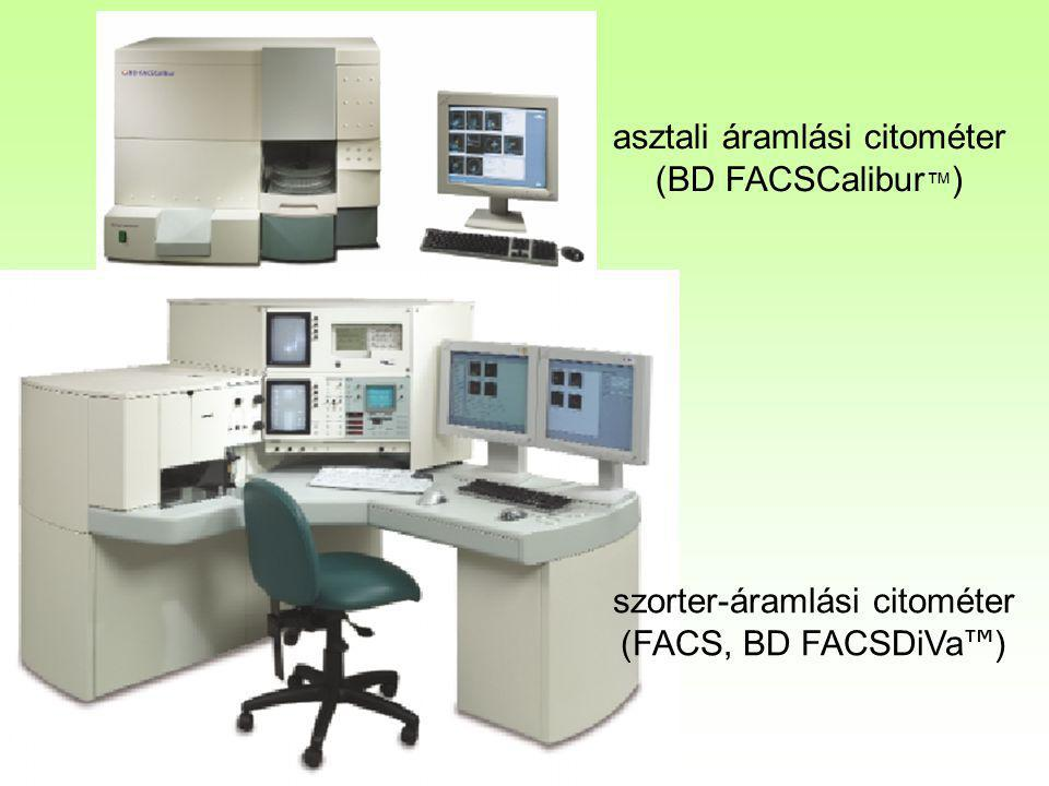 asztali áramlási citométer (BD FACSCalibur™)