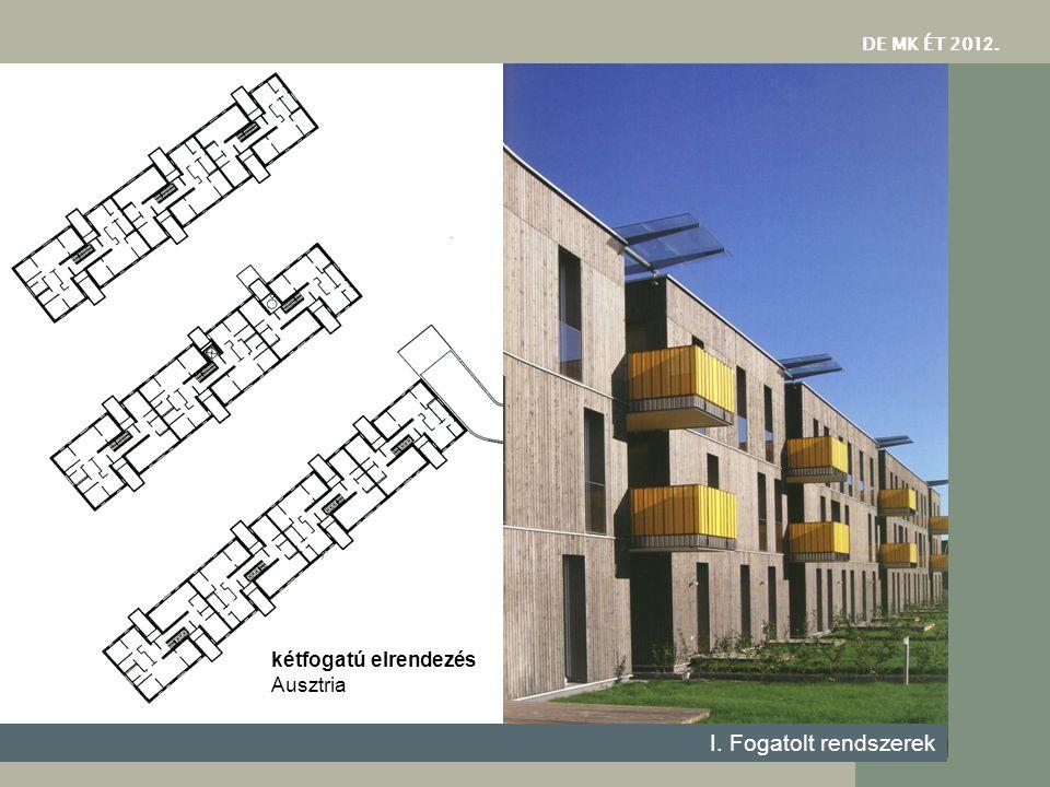 DE MK ÉT 2012. kétfogatú elrendezés Ausztria I. Fogatolt rendszerek