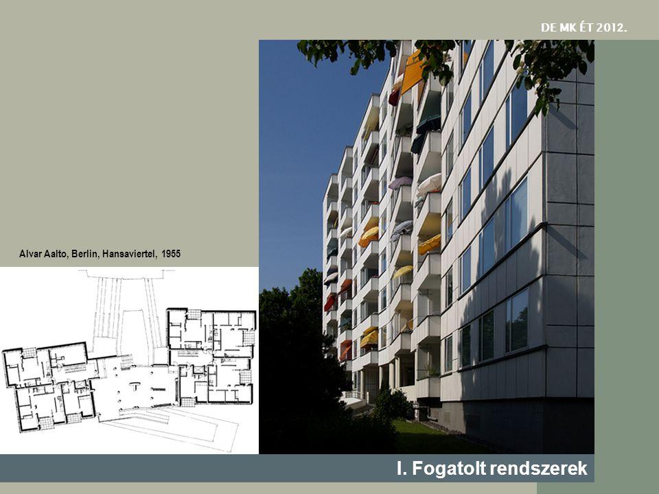 I. Fogatolt rendszerek DE MK ÉT 2012.