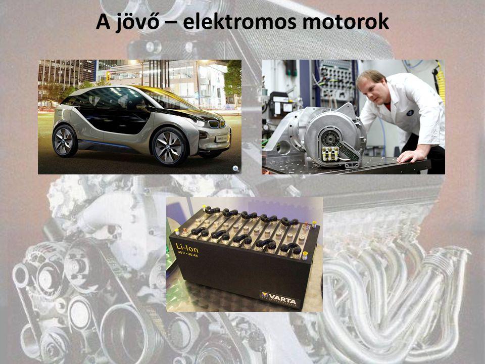A jövő – elektromos motorok