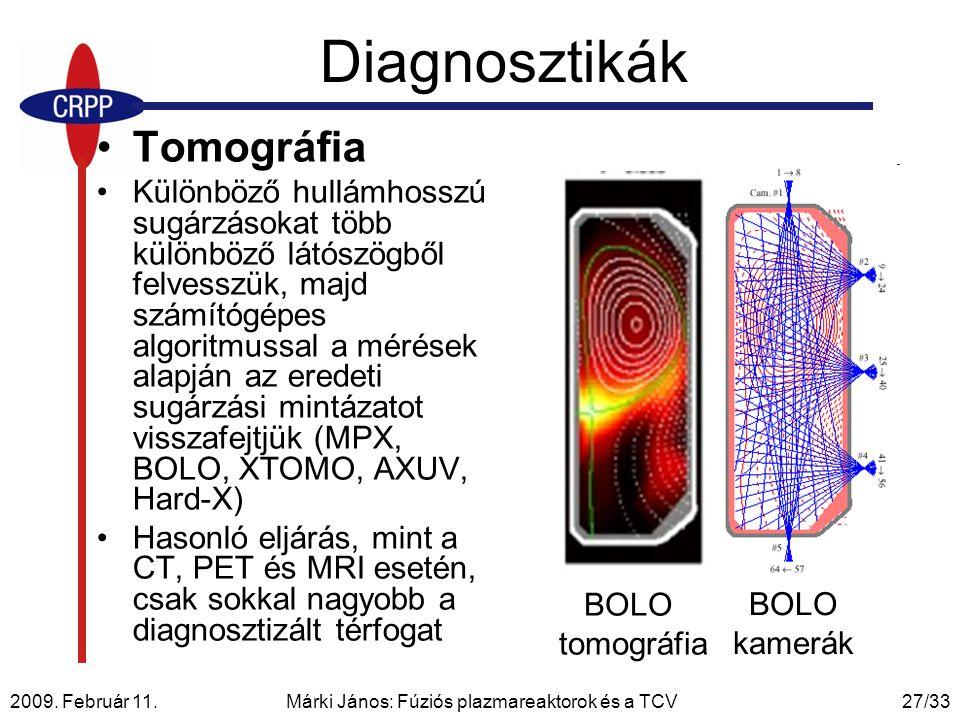 Márki János: Fúziós plazmareaktorok és a TCV