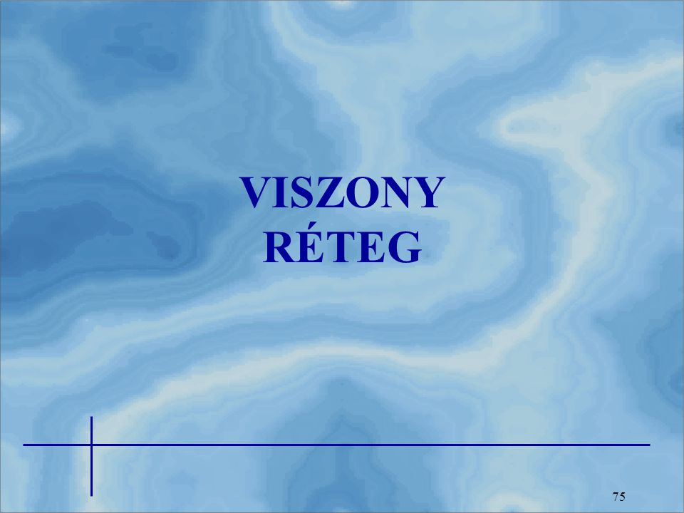 VISZONY RÉTEG