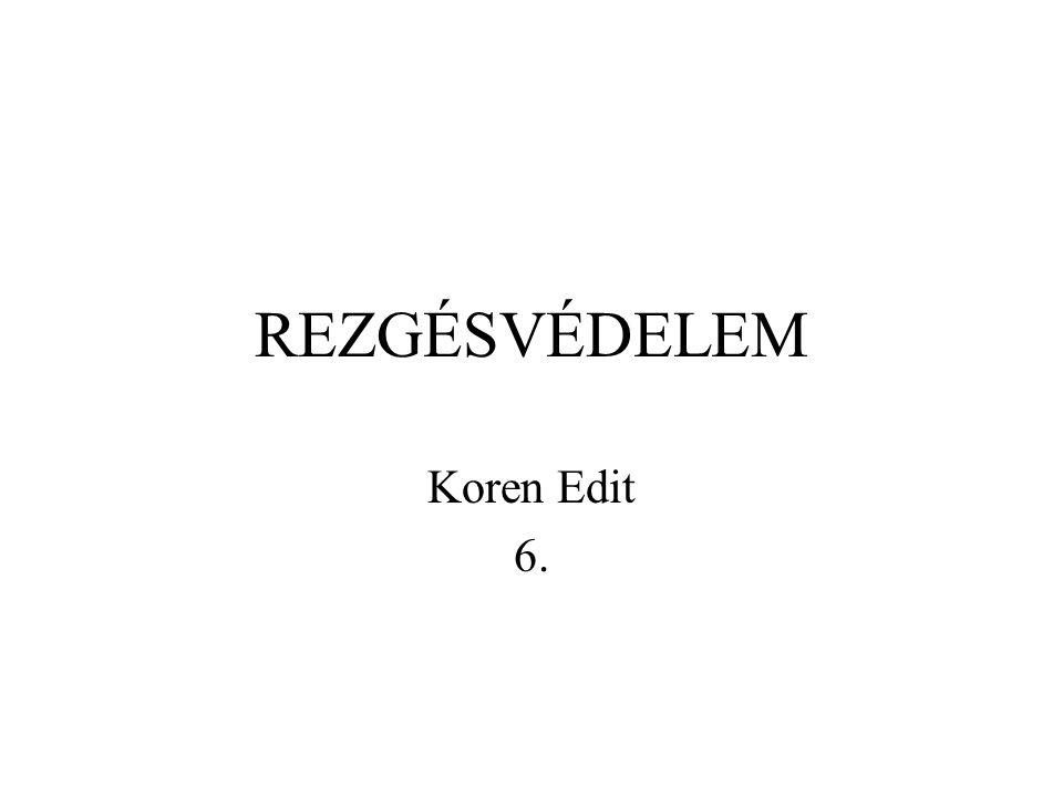 REZGÉSVÉDELEM Koren Edit 6.