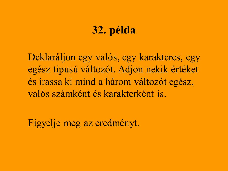 32. példa