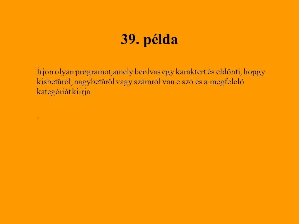 39. példa