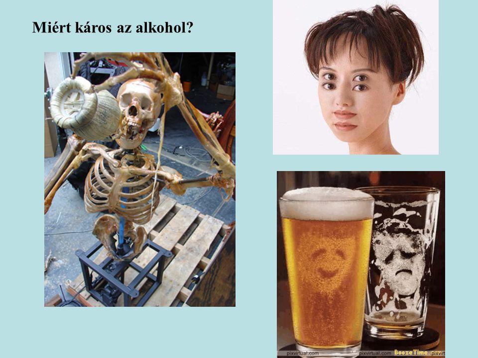 Miért káros az alkohol