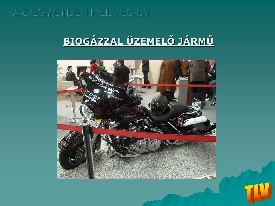BIOGÁZZAL ÜZEMELŐ JÁRMŰ