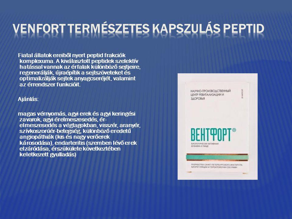 VENFORT TERMÉSZETES KAPSZULÁS PEPTID