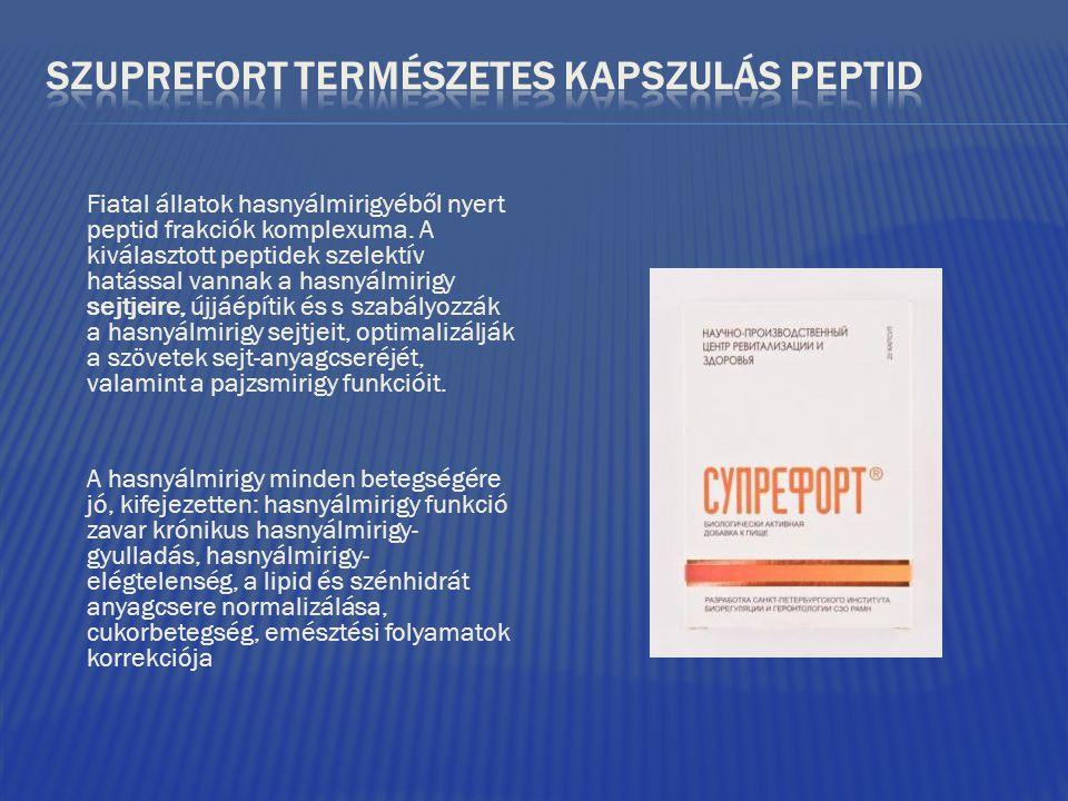 SZUPREFORT TERMÉSZETES KAPSZULÁS PEPTID